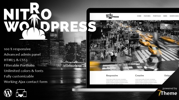 Nitro – Multipurpose WordPress Theme