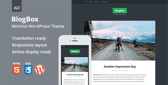BlogBox – Responsive & Bold WordPress Theme