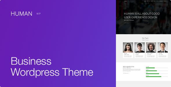 Human – Responsive WordPress Business Theme