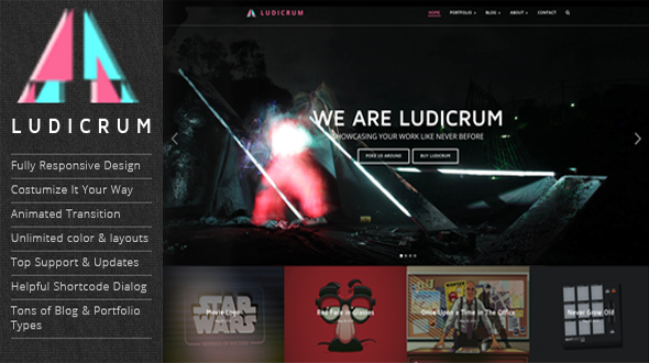 Ludicrum – Creative Multi Purpose WordPress Theme