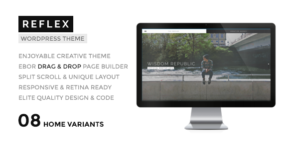 REFLEX – Creatives & Agency WordPress Theme