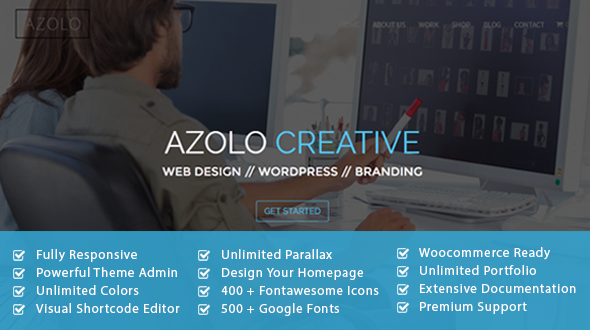 AZOLO – Multipurpose One Page Theme