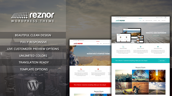 Reznor Multi-purpose WordPress Theme