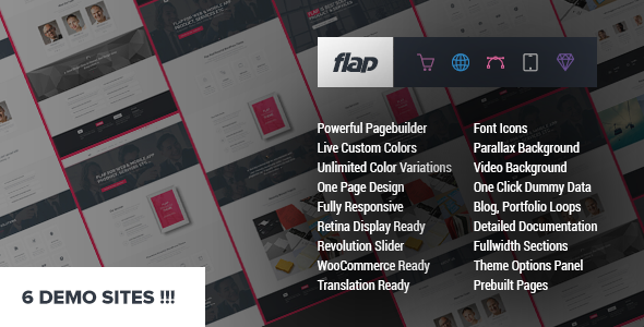FLAP – Business WordPress Theme
