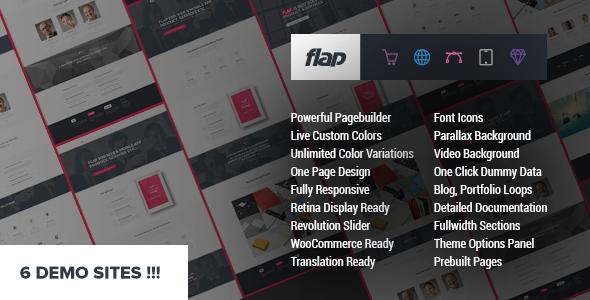FLAP – Business WordPress Theme