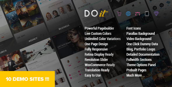 DOIT – Creative MultiPurpose Theme