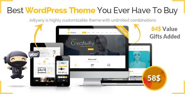 Jollyany – Corporate Multi Purpose WordPress Theme