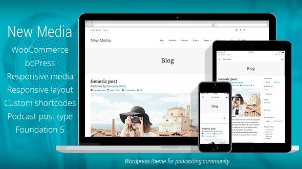 New Media | Podcast, Blog, E-commerce, Community