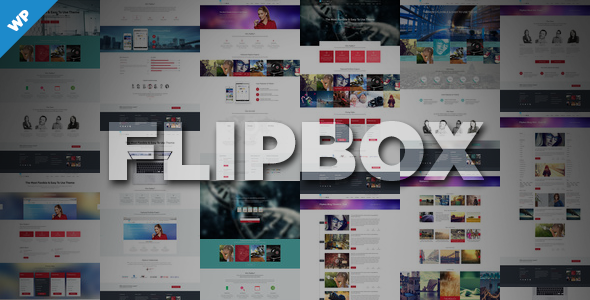 Flipbox – Multi-Purpose Responsive Theme