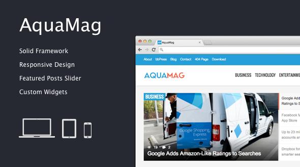 AquaMag – Responsive Magazine Theme