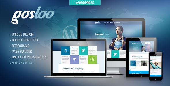 Gosloo – Responsive WordPress Portfolio Theme