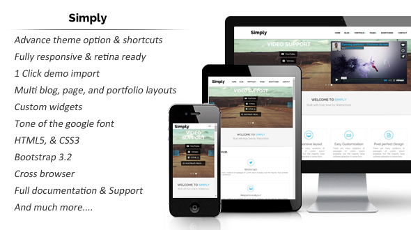 Simply – Multi Purpose WordPress Theme