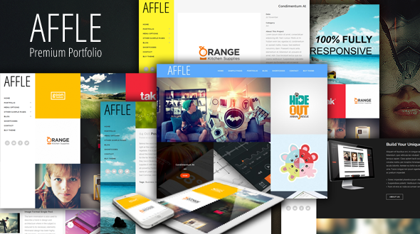 Affle – Responsive Portfolio WordPress Theme