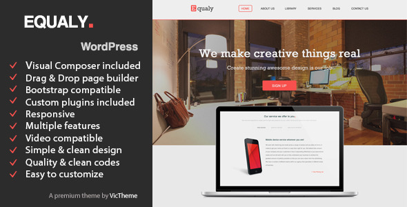 EQUALY – Professional Business WordPress Theme