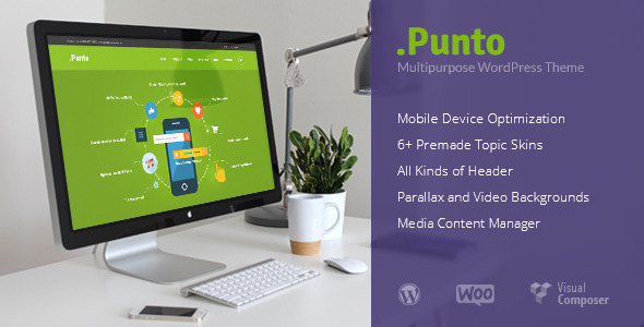 Punto | Multipurpose WordPress Theme