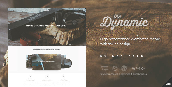 The Dynamic – High-Performance WordPress Theme