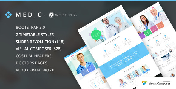 Medic – Medical, Health and Hospital WP Theme