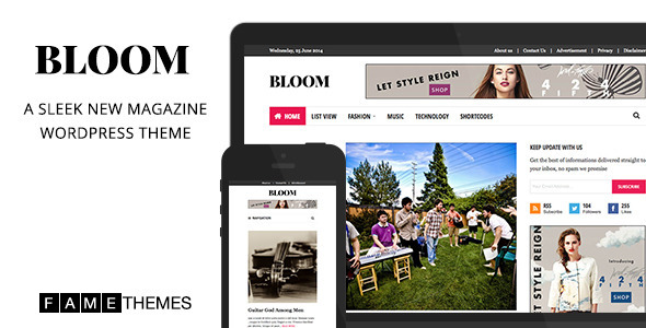 Bloom – Sleek New Magazine Theme