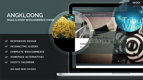 Angkloong – Events & Music WooCommerce Theme