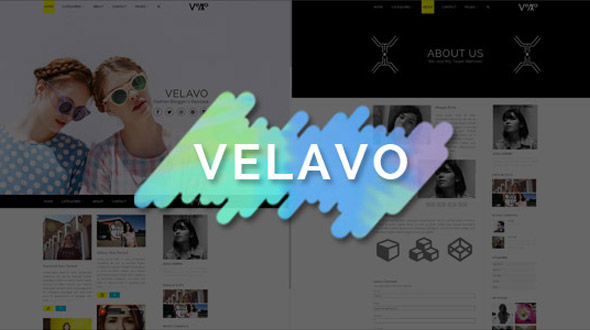 Velavo – Personal Responsive Blog Theme