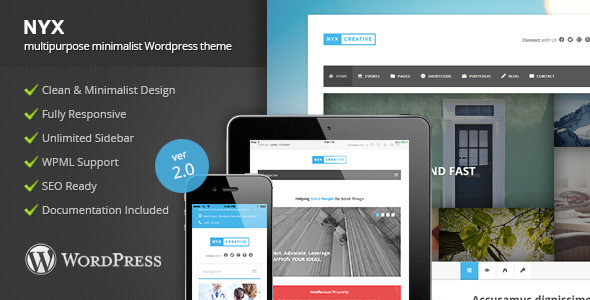 NYX – Multipurpose WordPress Theme