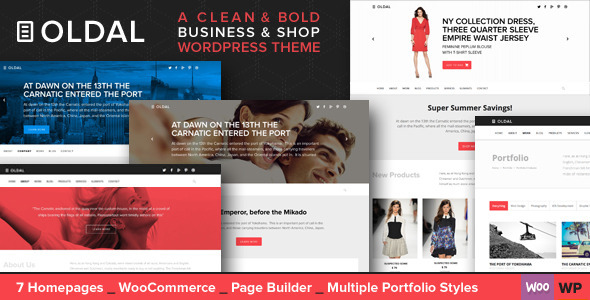 Oldal – Multi-Purpose Business WordPress Theme