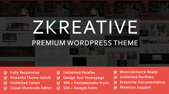 Z-Kreative -Responsive Multipurpose Theme