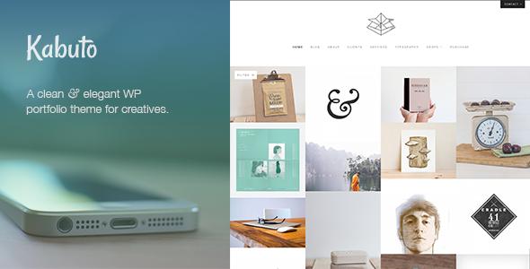 Kabuto: Responsive WordPress Portfolio Theme