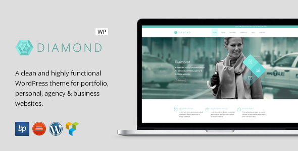 Diamond – Responsive Business WordPress Theme