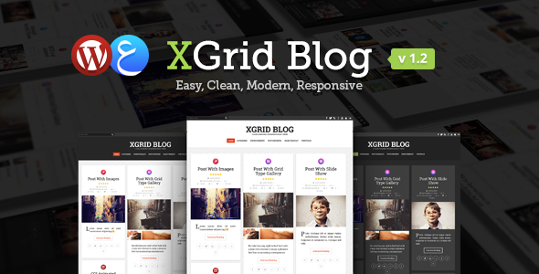 xGrid Blog – Clean & Personal WordPress Blog Theme