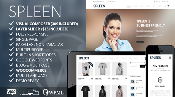 Spleen – Multipurpose Responsive WordPress Theme