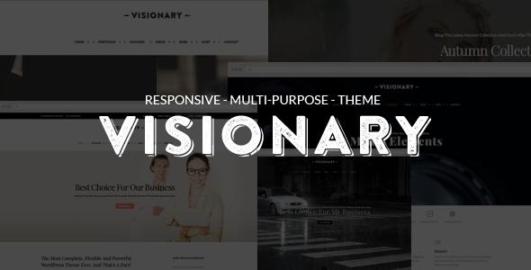 Visionary – Multi-Purpose Drag And Drop Theme