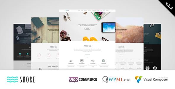 Shore – Creative MultiPurpose WordPress Theme