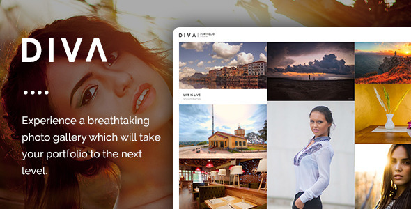 DIVA – Fabulous Photography WP Theme