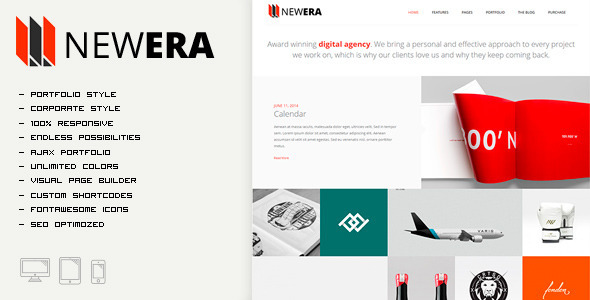 NEWERA – Smart Portfolio and Business Theme