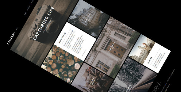 Camera – Responsive Creative WordPress Theme