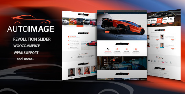 Auto Image – WordPress Car Dealer theme