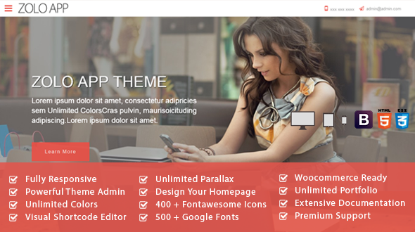 ZOLO APP Multipurpose WordPress Theme