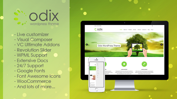 Odix Multipurpose WordPress Theme