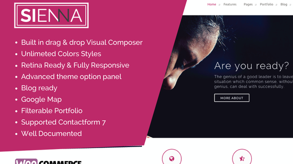 Sienna – Multipurpose WordPress Theme