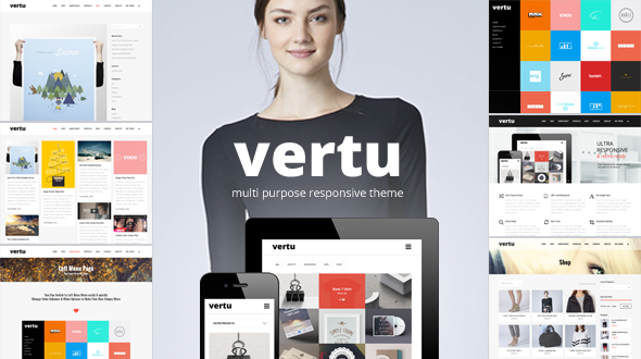 Vertu – Multi Purpose Responsive WordPress Theme