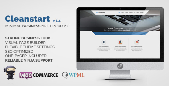 CLEANSTART Clean Multipurpose Business Theme
