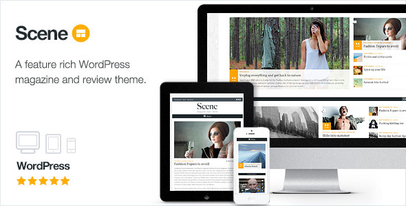 Scene – Magazine Theme for WordPress