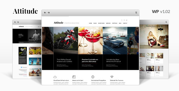 Attitude – Multipurpose WordPress Theme