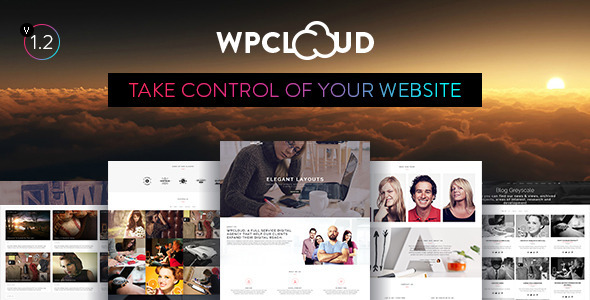 WPCLOUD – Creative One-Page Theme