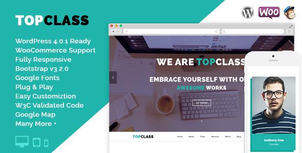TopClass – Multipurpose Business & Corporate Theme