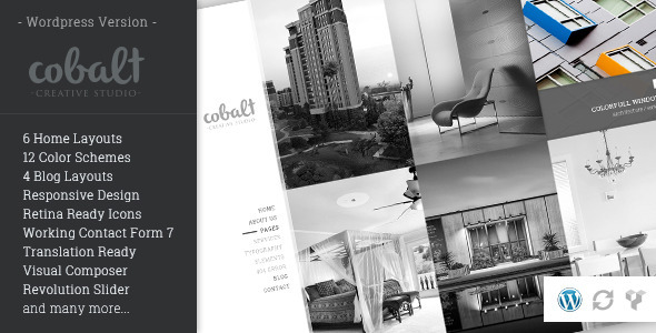 Cobalt – Responsive Architect & Creatives WP Theme