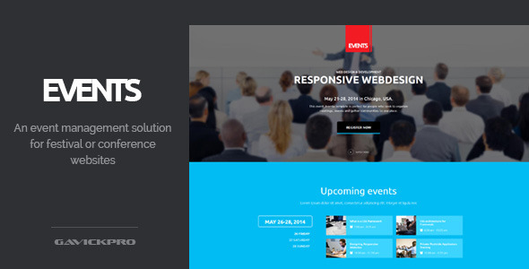 Events – Conference and Festival WordPress Theme