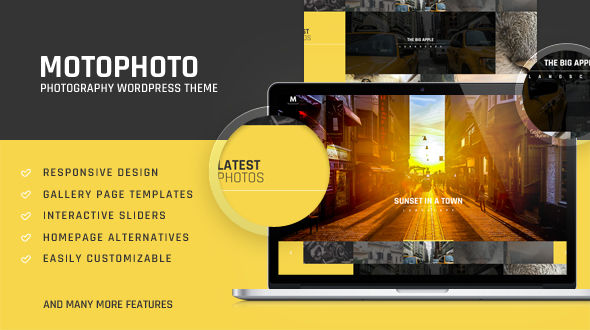 Motophoto – Portfolio Photography Theme