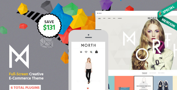 North | Unique E-Commerce Theme
